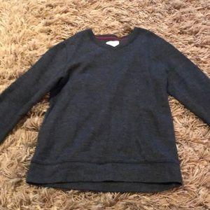 Old Navy gray v-neck sweater size 8